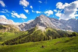 Заставки пейзаж, горы, небо