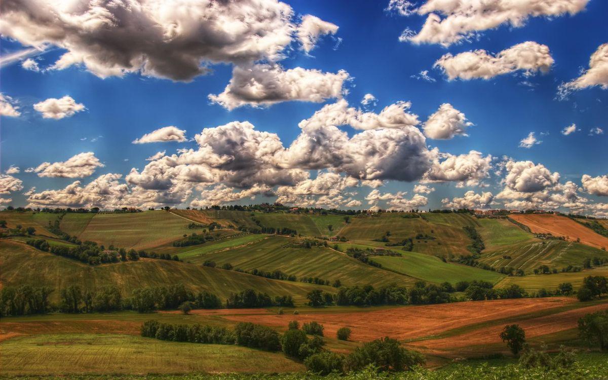 Фото бесплатно равнина, поля, газон - на рабочий стол