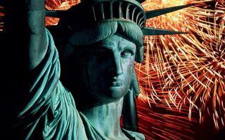 Фото бесплатно статуя, свободы, америка