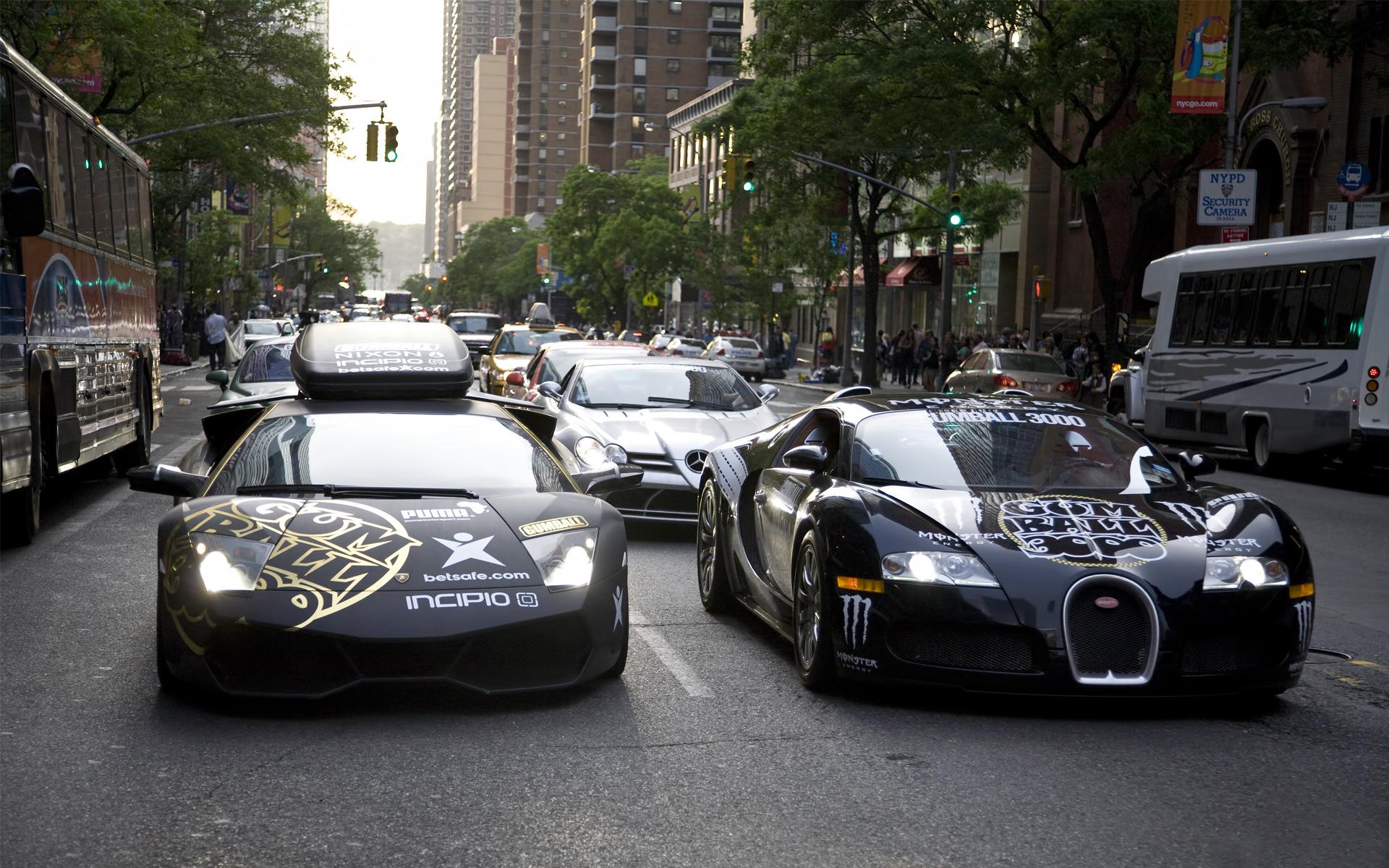улица, дорога, спорткары