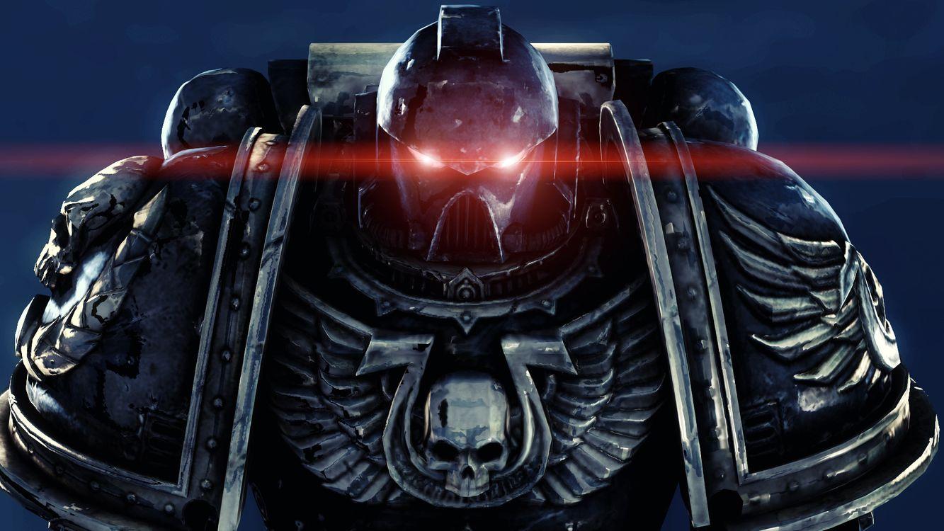 Фото бесплатно warhammer, 40k, space marines, ultramarines, космодесант, силовая, броня, мультик, мультфильмы, мультфильмы