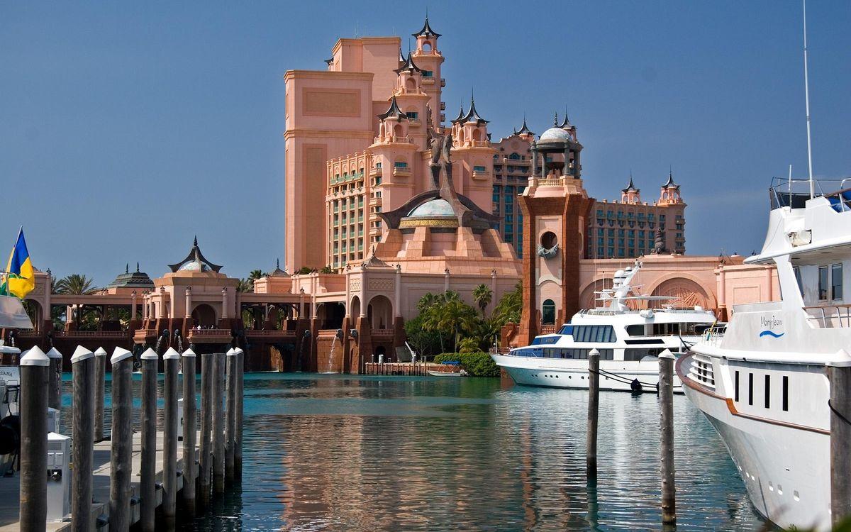 Фото бесплатно здания, вода, корабли - на рабочий стол