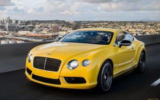 Бесплатные фото bentley,жёлтый,дорога,машины