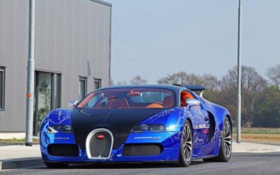 Бесплатные фото bugatti,veyron,дорога,машины