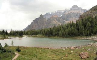 Бесплатные фото горы, лес, озеро, вода, природа, деревья, камни