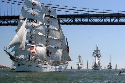 Фото бесплатно корабли, парусники, ледка