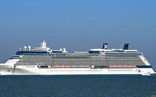 Заставки круизный лайнер, палубы, шлюпки, катер, море