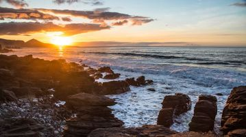 Бесплатные фото Norte de Gran Canaria,Испания,море,закат,волны,скалы,пейзаж