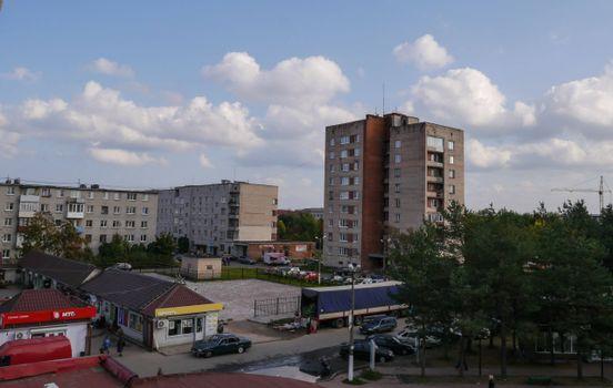Фото бесплатно Приозерск, дома, магазин