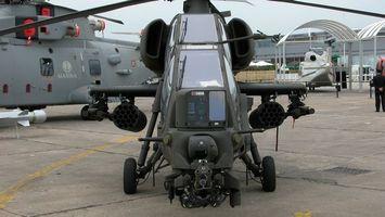 Фото бесплатно вертолет, кабина, пулемет