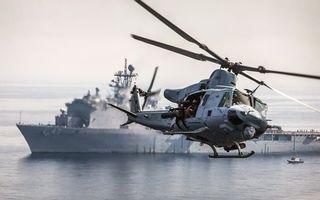 Бесплатные фото вертолет,винт,хвост,кабина,корабль,море,авиация