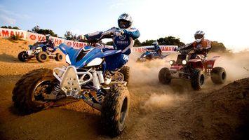 Бесплатные фото yahama,парень,соревнование,машинка,колеса,песок,дорога