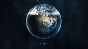 Бесплатные фото стекло,планета,земля,шар