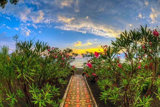 Фото бесплатно Черное море, Квариати, Грузия