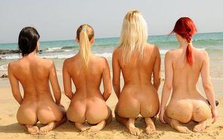 Фото бесплатно девушки, лето, море