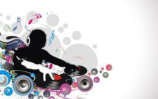 Бесплатные фото диджей,наушники,пульт,винил,ноты,динамики,музыка