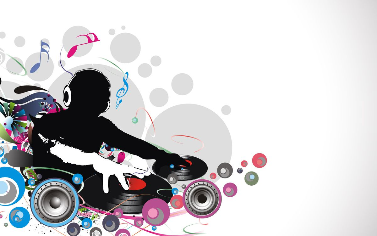 Photos for free DJ, headphones, remote - to the desktop