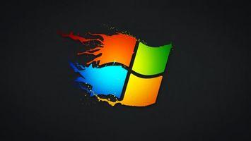 Бесплатные фото логотип,виндовс,синий,красный,желтый,зеленый,фон