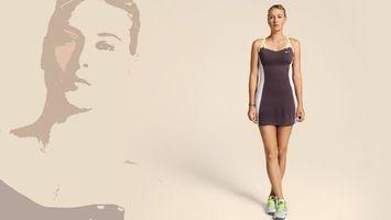 Бесплатные фото мария,шарапова,спортсменка,стройная,симпатичная,фигура,девушки