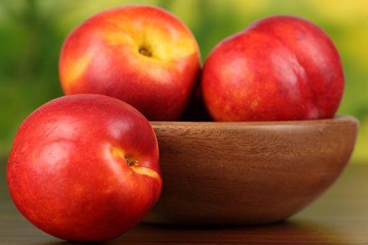 Фото бесплатно нектарин, фрукт, стол
