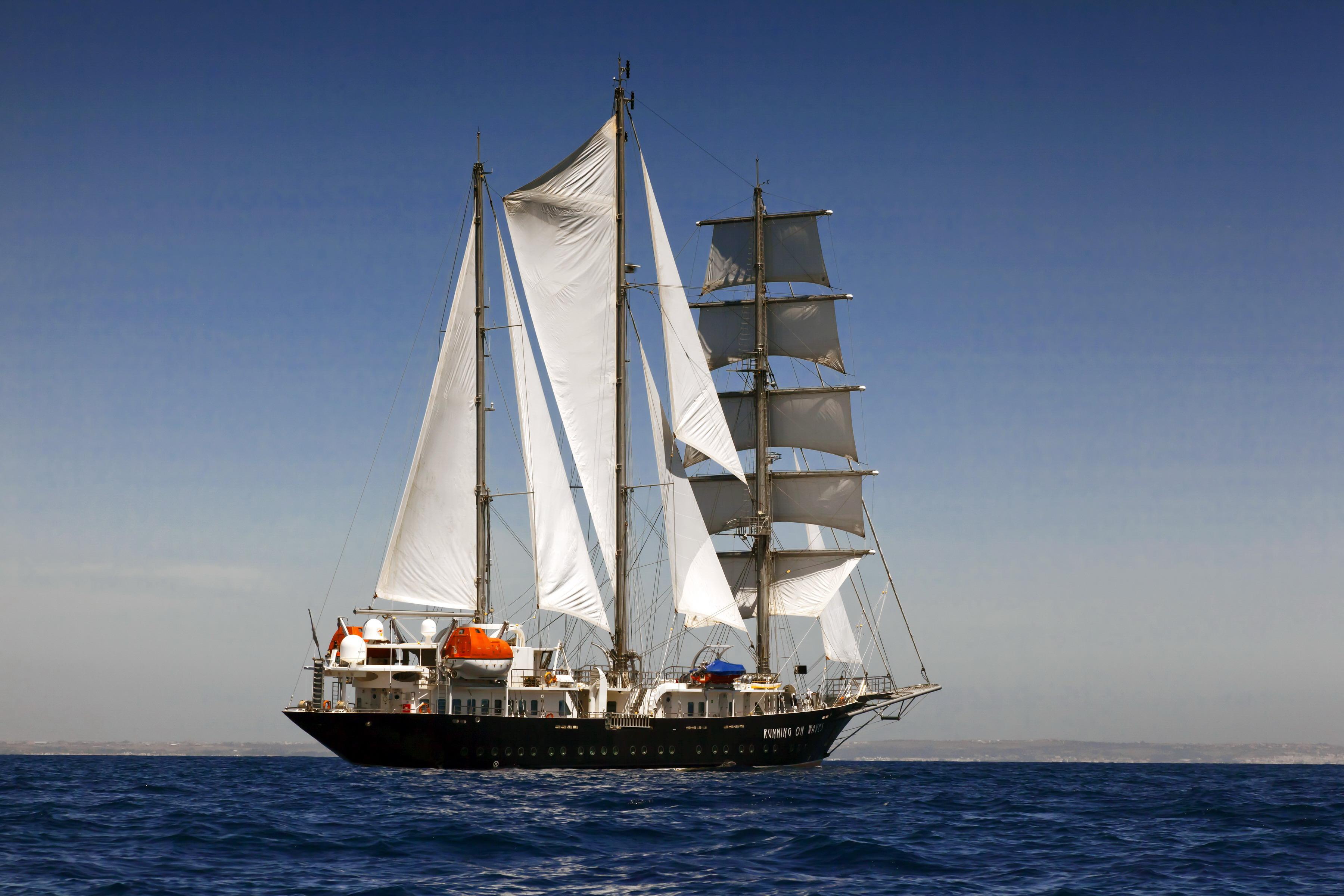парусник, корабль, океан
