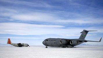 Фото бесплатно самолет, большой, серый
