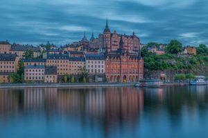 Бесплатные фото Sodermalarstrand,Стокгольм,Швеция