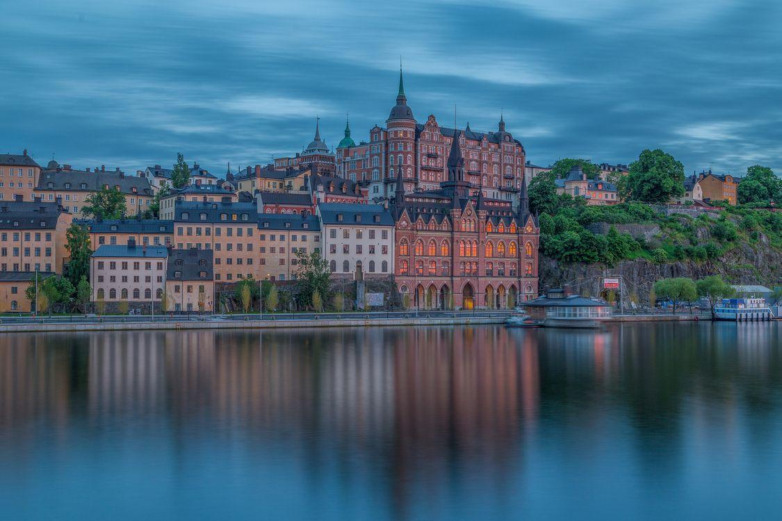Фото бесплатно Sodermalarstrand, Стокгольм, Швеция - на рабочий стол