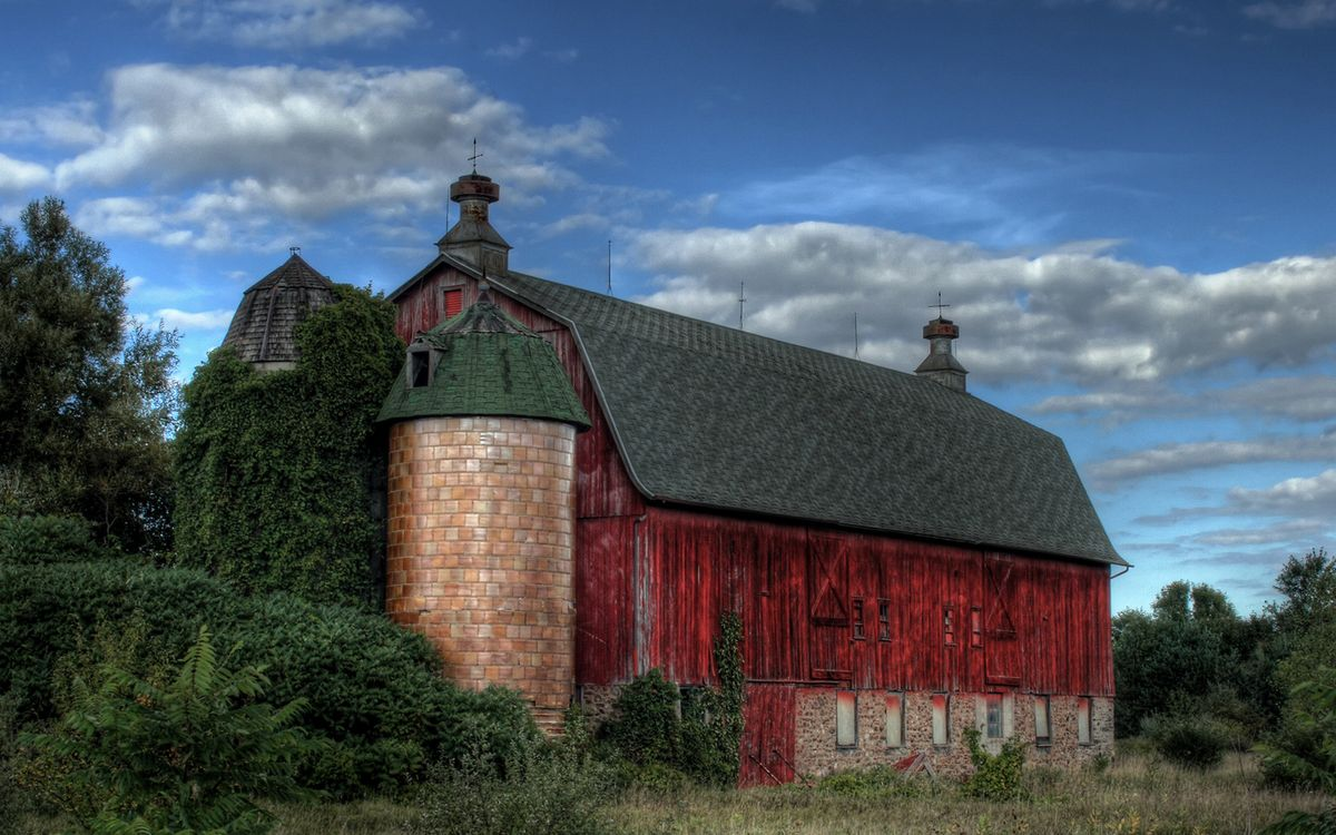 Free photo structure, barn, roof - to desktop