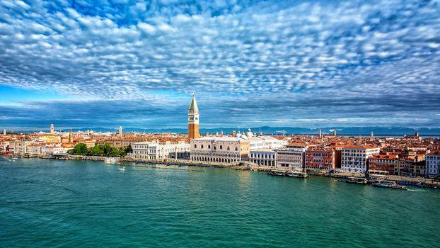 Скачать фото город, венеция