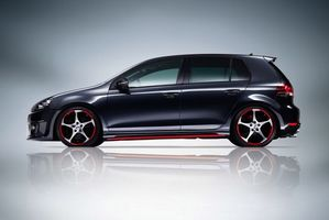 Photo free volkswagen, golf, dark blue
