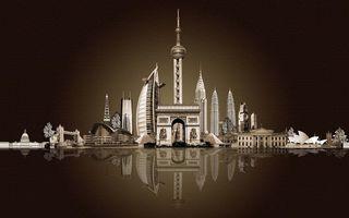 Бесплатные фото завтавка,фон,сидней,арабские эмираты,париж,лондон,строения