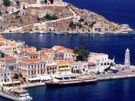 Остров Кос в Эгейском море