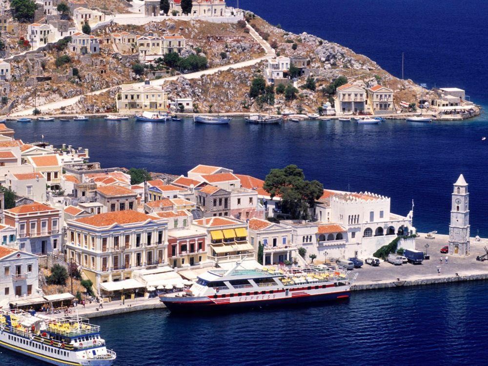 Остров Кос в Эгейском море · бесплатное фото