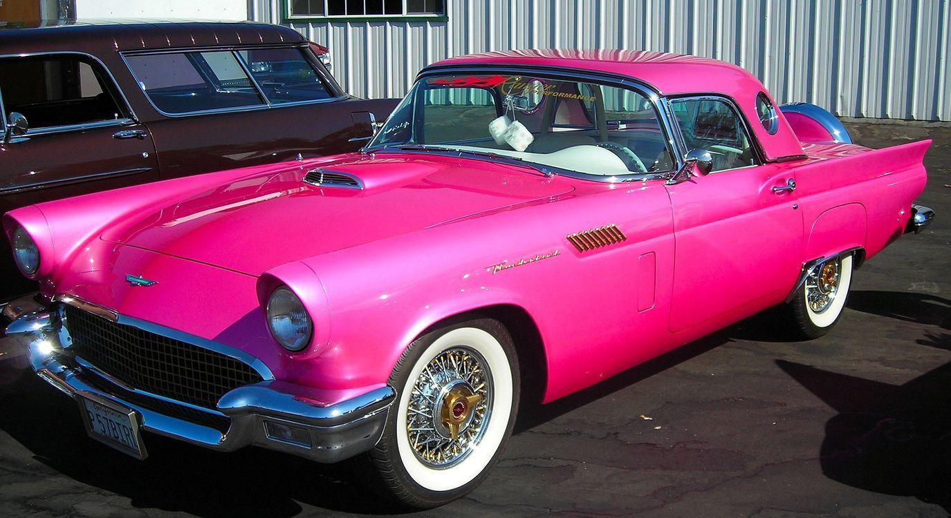Фото бесплатно авто, розовый, яркий - на рабочий стол