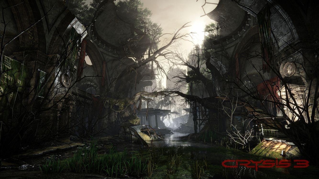 Фото бесплатно crysis 3, руины, снимок - на рабочий стол