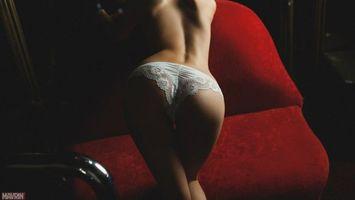 Фото бесплатно девушка, спина, попа