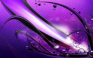 Заставки фиолетовый, круги, знаки, линии, узор, заставка, обои