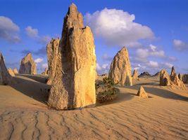Фото бесплатно горы, песок, солнце