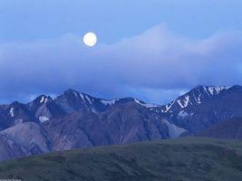 Фото бесплатно горы, высокие, снег