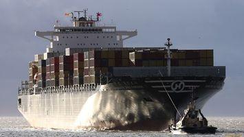 Заставки корабль, большой, контейнеры