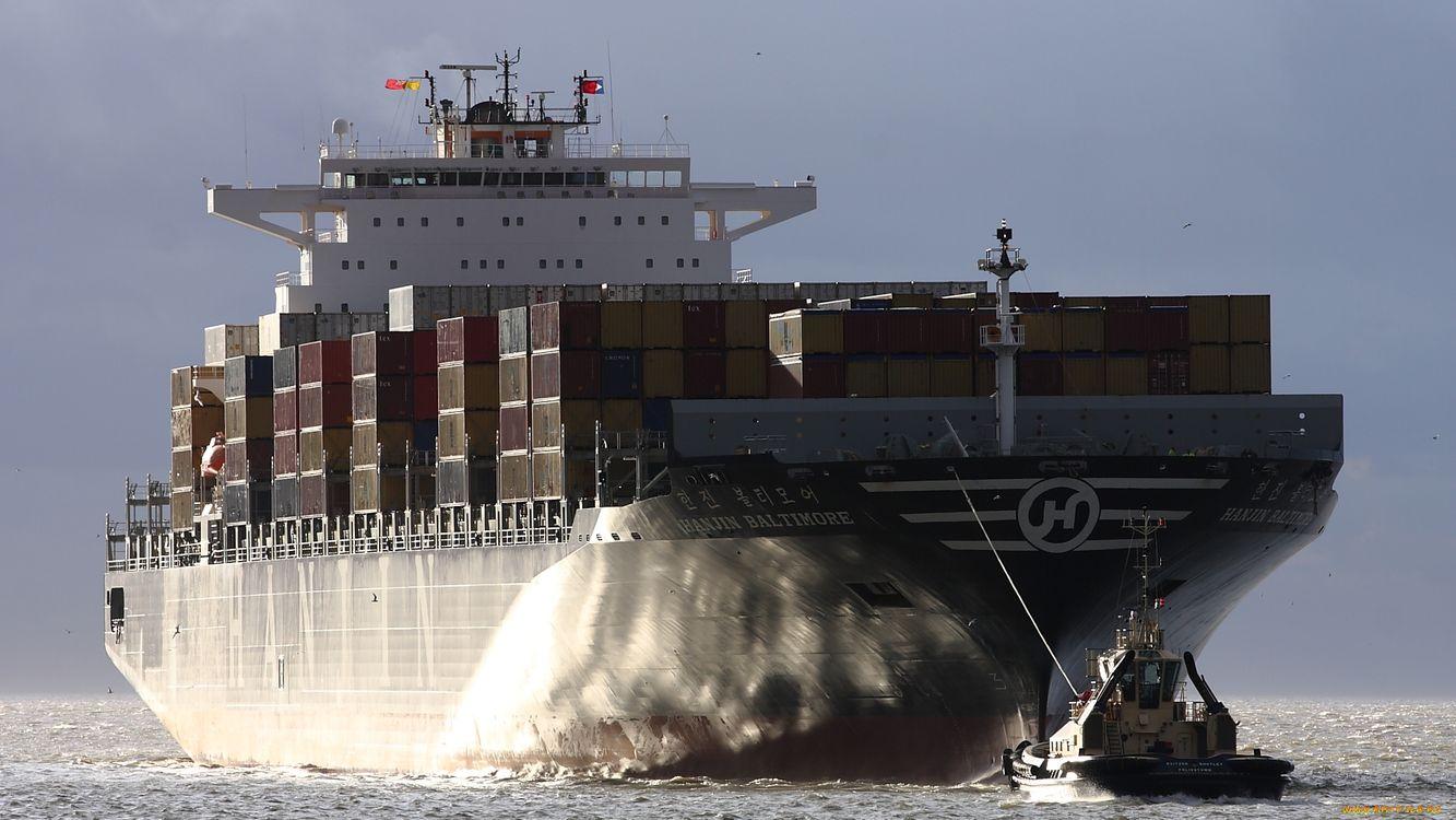 Обои море, волны, корабль картинки на телефон