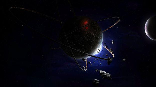 Бесплатные фото космос,планеты,звезды,астероиды,невесомость,вакуум,фантастика