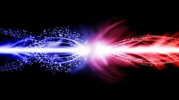 Обои красны, синий, быстро, ярко, скорость, абстракции