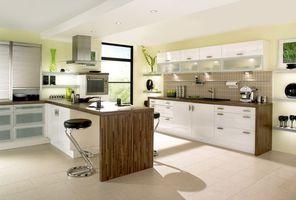 Бесплатные фото кухня, мебель, стул, освещение, стол, бокалы, интерьер