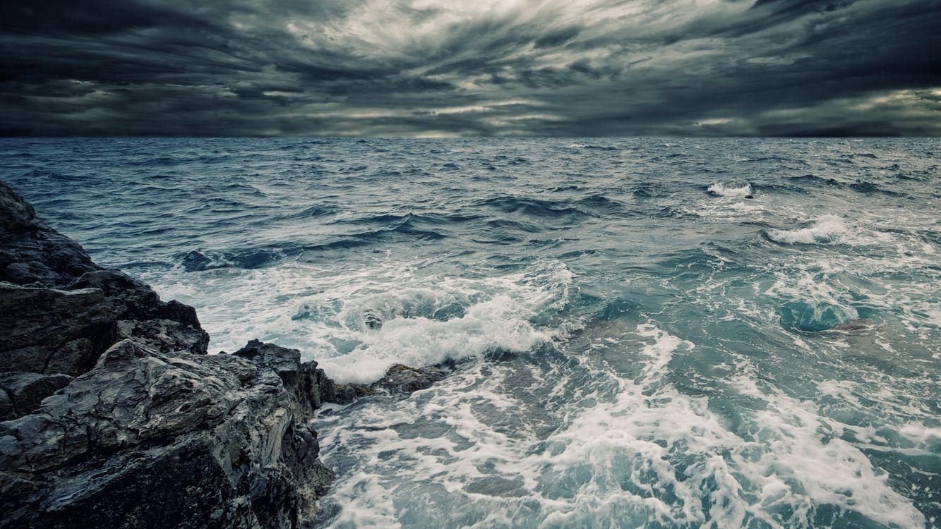 Фото бесплатно море, волны, вода - на рабочий стол