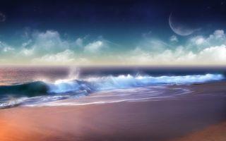 Бесплатные фото море,океан,берег,песок,пляж,небо,голубое