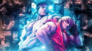 Бесплатные фото мультик,герои,парни,мужчины,сила,мышцы,повязка