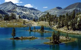 Бесплатные фото природа,горы,горное озеро,лес,лето,пейзажи