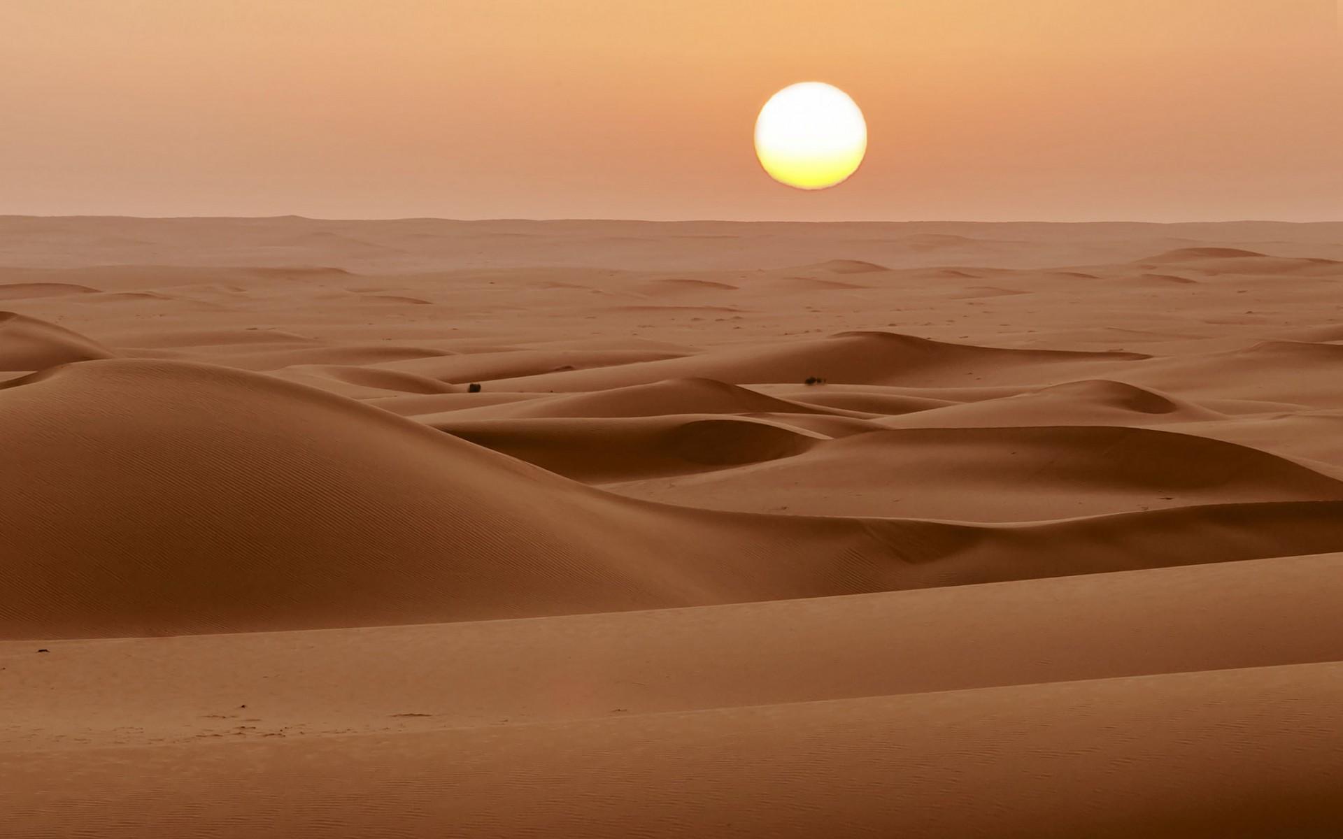 пустыня, песок, дюны